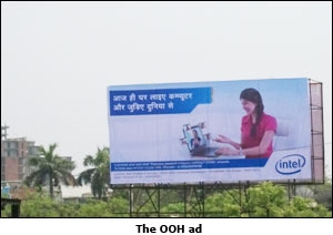 The OOH ad