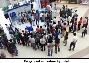 On-ground activation by Intel