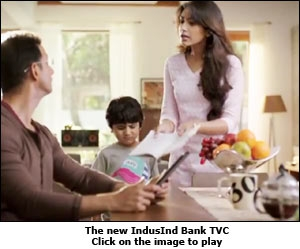 The new IndusInd Bank TVC
