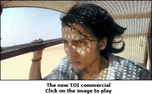 The new TOI commercial