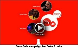 Coca-Cola campaign for Coke Studio