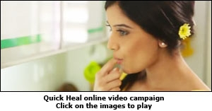 Quick Heal online video campaign