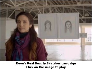 Dove's Real Beauty Sketches campaign,