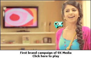 First brand campaign of 9X Media