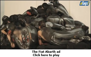 The Fiat Abarth ad
