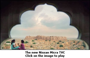 The new Nissan Micra TVC