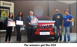 The winners get the XUV