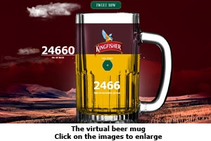 The virtual beer mug
