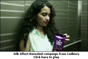 Silk Effect Revealed campaign from Cadbury