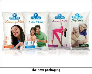 The new packaging