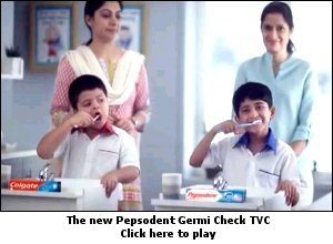 The new Pepsodent Germi Check TVC