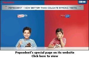 pepsodent vs colgate