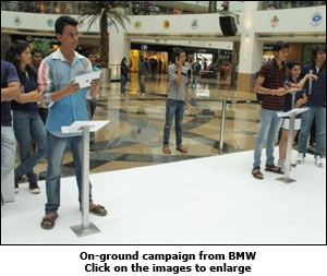 On-ground campaign from BMW