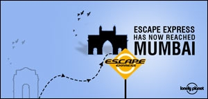Creatives for Escape Express campaign