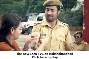 The new Idea TVC on Rakshabandhan