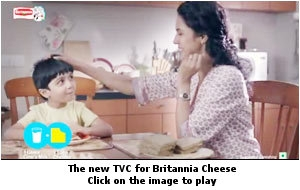 The new TVC for Britannia Cheese