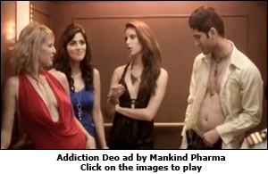 Addiction Deo ad by Mankind Pharma