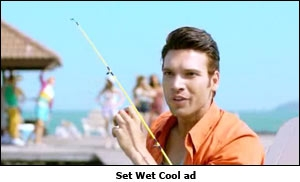 Set Wet Cool ad