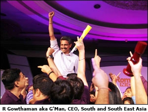 R Gowthaman aka G'Man, CEO, South and South East Asia