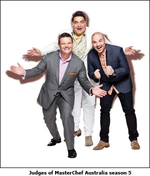 Judges of Masterchef Australia season 5