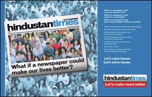 Let's Make News Better campaign from HT