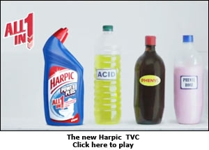 The new Harpic TVC