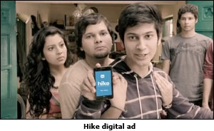 Hike digital ad