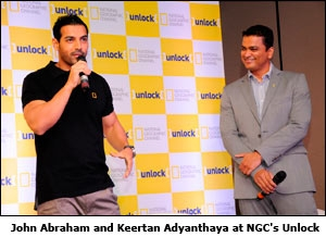 John Abraham and Keertan Adyanthaya at NGC's Unlock