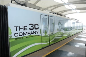 The 3C train wrap on RMGL