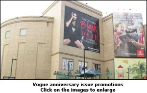Vogue Anniversary issue promotions