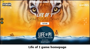 Life of I game homepage