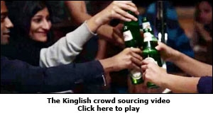 The Kinglish crowd sourcing video
