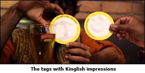 The tags with Kinglish impressions