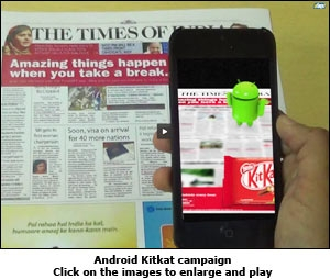 Android Kitkat campaign