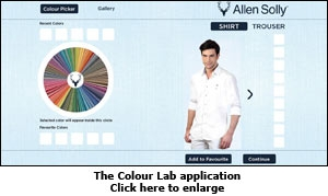 The Colour Lab application