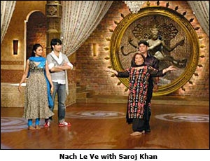 Nach Le Ve with Saroj Khan