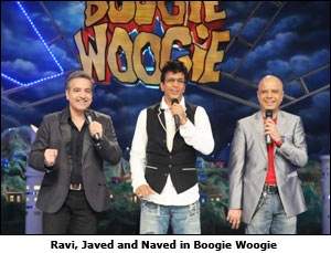 Ravi, Javed, Naved in Boogie Woogie