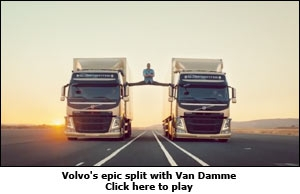 Volvo's epic split with Van Damme