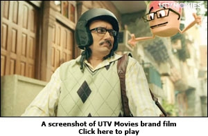 UTV Movies brand film screenshot