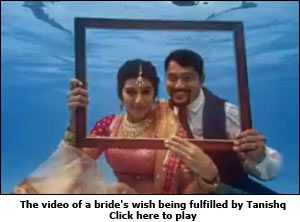 The video of a bride's wish being fulfilled by Tanishq