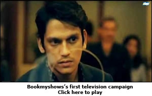 Bookmyshows's first television campaign