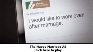 The Happy Marriage Ad
