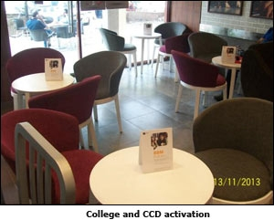 College and CCD activation