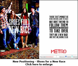 New Positioning - Shoes for a New Race