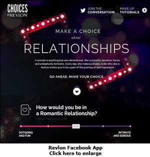 Choices by Revlon Facebook App