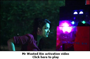 Mr Wasted Bin activation video