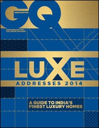 GQ Luxe Addresses 2014