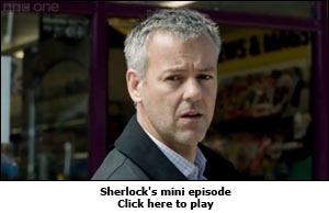Sherlock's mini episode