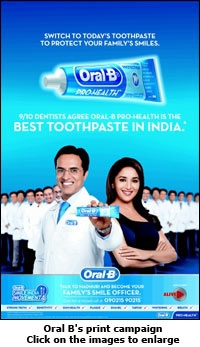 The Oral-B GENIUS White – the first Oral-B intelligent brushing system with new Gum Guard technology to help you brush like your dentist recommends.