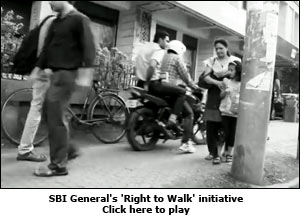 SBI General's 'Right to Walk' initiative